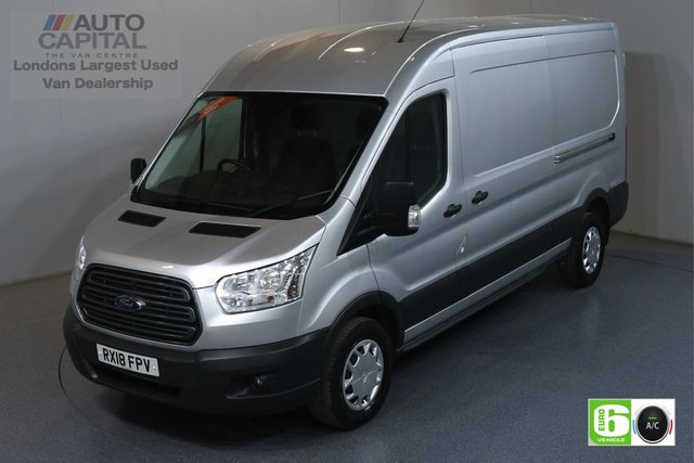 2018 18 FORD TRANSIT 2.0 350 TREND L3 H2 129 BHP EURO 6 ENGINE AIR CON, FRONT-REAR PARKING SENSORS
