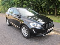 USED 2016 16 VOLVO XC60 2.0 D4 SE LUX NAV 5d AUTO 188 BHP Fantastic Value Automatic Volvo XC 60 SE LUX with Full Leather, Satellite Navigation, Climate Contol, Cruise Control, Alloy Wheels and Service History. This Vehicle is ULEZ Compliant with a EURO 6 Rated Engine.