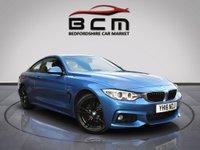 2016 BMW 4 SERIES 2.0 420D XDRIVE M SPORT 2d AUTO 188 BHP £14985.00