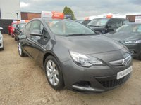 2011 VAUXHALL ASTRA 1.4 GTC SPORT S/S 3dr 120 BHP FINANCE WITH NO DEPOSIT AND NOTHING TO PAY FOR 2 MONTHS £4200.00