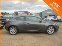 USED 2011 61 VAUXHALL ASTRA 1.4 GTC SPORT S/S 3dr 120 BHP FINANCE WITH NO DEPOSIT AND NOTHING TO PAY FOR 2 MONTHS ALL VAUXHALL GTC FACTORY FITTED EXTRAS FROM NEW