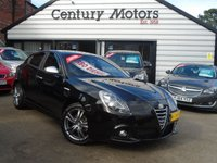 2014 ALFA ROMEO GIULIETTA 1.6 JTDM-2 EXCLUSIVE 5d + LEATHER £6990.00