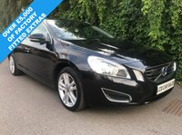 USED 2013 13 VOLVO V60 2.4 D5 SE LUX NAV AUTOMATIC - FULL SERVICE HISTORY -  SATELLITE NAVIGATION, PANORAMIC SUNROOF, BLIND SPOT INFORMATION SYSTEM, LANE DEPARTURE WARNING SYSTEM