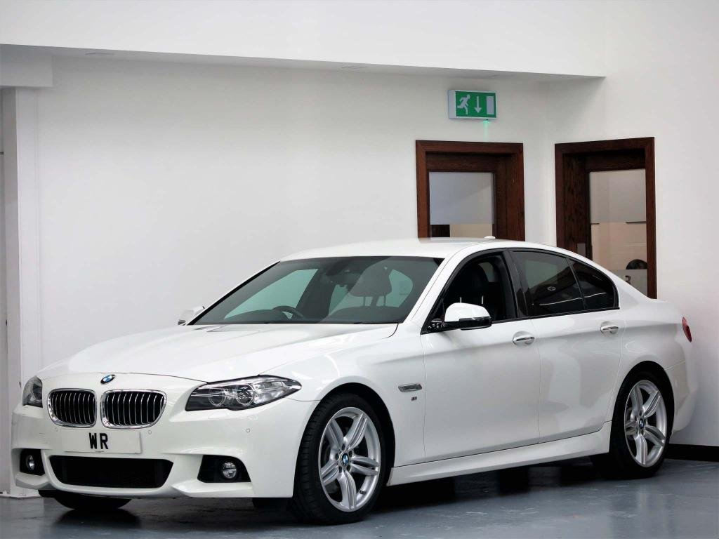 USED 2015 65 BMW 5 SERIES 3.0 535d M Sport 4dr SPORTS GEARBOX  + PROF SAT NAV