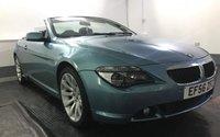2006 BMW 6 SERIES 3.0 630I SPORT 2d 255 BHP £6795.00