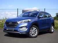 2016 HYUNDAI TUCSON SE NAV 1.6 GDI BLUE DRIVE 5d 130 BHP £12695.00