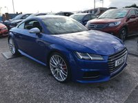 USED 2015 15 AUDI TT 2.0 TTS TFSI QUATTRO 310ps  ONE Private OWNER FROM NEW FASH