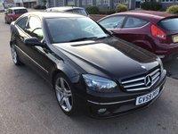 USED 2009 59 MERCEDES-BENZ CLC CLASS 2.1 CLC200 CDI SPORT 3d AUTO 122 BHP Diesel, automatic, black,