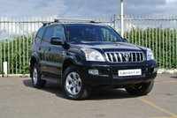 2007 TOYOTA LAND CRUISER 3.0 INVINCIBLE D-4D 8STR 5d AUTO 171 BHP £13945.00