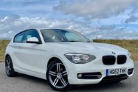 USED 2012 62 BMW 1 SERIES 2.0 116d Sport Sports Hatch 3dr DEPOSITED