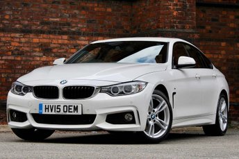 2015 BMW 4 SERIES 2.0 420d M Sport Gran Coupe (s/s) 5dr £16977.00