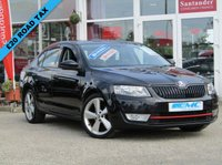 USED 2014 14 SKODA OCTAVIA 2.0 ELEGANCE TDI CR 5d 148 BHP STUNNING, £20 ROAD TAX, SKODA OCTAVIA 2.0 ELEGANCE TDI CR 150 BHP. Finished in BLACK MAGIC MET with contrasting LEATHER / ALCANTARA interior. This is one of the most spacious and best value for money cars in its class. This family hatch has features which include Sat Nav, DAB, Park sensors, Leather Seats, Cruise and much more. Bickerton Skoda Dealer serviced at 10168 miles, 18797 miles, 28034 miles, 37840 miles, 47490 miles, 56798 miles and at 57532 miles including the CAM BELT and WATER PUMP.