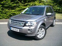 USED 2013 13 LAND ROVER FREELANDER 2.2 SD4 XS 5d AUTO 190 BHP A RARE LOW MILEAGE SD4 - XS - AUTOMATIC - SAT/NAV EXAMPLE WITH LOW MILEAGE IN BEAUTIFUL CONDITION WITH FULL LANDROVER HISTORY A SUPER HIGH SPEC!