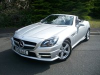 USED 2011 61 MERCEDES-BENZ SLK 1.8 SLK200 BLUEEFFICIENCY AMG SPORT ED125 2d AUTO 184 BHP Highly Cherished Example, JUST 70,000 Miles From New with Full Service History, HUGE Specification!!!