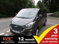 USED 2018 18 FORD TRANSIT CUSTOM 300 SWB L1 Limited 130ps L1 Custom Limited Magnetic Grey