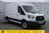 USED 2016 66 FORD TRANSIT 2.0 350 L3 H2 P/V 1d 129 BHP 1 OWNER,FSH,AIR CON,BLUETOOTH