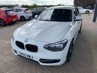 USED 2013 13 BMW 1 SERIES 1.6 116I SPORT 5d 135 BHP