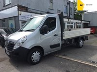USED 2013 13 VAUXHALL MOVANO Dropside 2.3 F3500 L2H1 CDTI 123 BHP*EXCELLENT VALUE*