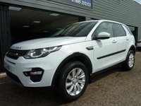 USED 2015 15 LAND ROVER DISCOVERY SPORT 2.2 SD4 SE TECH 5d AUTO 190 BHP