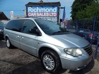 2006 CHRYSLER GRAND VOYAGER 2.8 LIMITED 5d AUTO 150 BHP £1495.00
