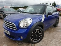 """USED 2014 14 MINI HATCH COOPER 1.6 ALL4 3d AUTO 121 BHP 2KEYS+HEATED SEATS+17"""" ALLOYS+CLIMATE+PARK+PEPPER PACK+HISTORY+"""
