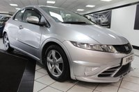 USED 2006 06 HONDA CIVIC 1.8 SE I-VTEC I-SHIFT AUTO 140 BHP FULL HEATED BLACK LEATHER!