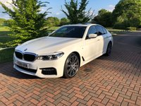 USED 2018 18 BMW 5 SERIES 3.0 530D M SPORT 4d AUTO 261 BHP SUNROOF//HUGE SPEC VERY RARE CAR
