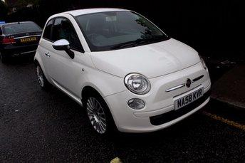 2008 FIAT 500 1.2 POP 3d 69 BHP £2499.00