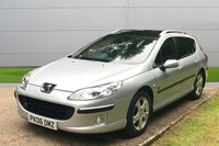 USED 2006 06 PEUGEOT 407 2.0 SW XENITH HDI 5d 136 BHP FULL LEATHER ETC. OW MILEAGE, AIR CON, FINANCE ME TODAY-UK DELIVERY POSSIBLE