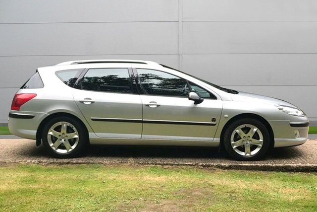 USED 2006 06 PEUGEOT 407 2.0 SW XENITH HDI 5d 136 BHP FULL LEATHER ETC. LOW MILEAGE, AIR CON, FINANCE ME TODAY-UK DELIVERY POSSIBLE