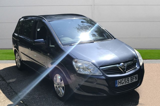 USED 2009 59 VAUXHALL ZAFIRA 1.9 EXCLUSIV CDTI 5d AUTO 118 BHP 1 OWNER AUTOMATIC LOW MILEAGE, 7 SEATS, FINANCE ME TODAY-UK DELIVERY POSSIBLE