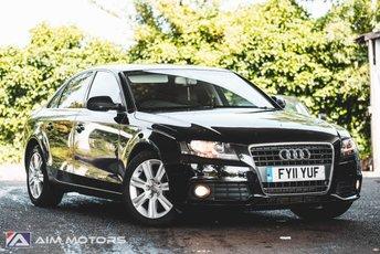 2011 AUDI A4 2.0 TDI SE 4d AUTO 141 BHP £6495.00