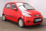 USED 2009 59 HYUNDAI I10 1.1 ES 5DR 1 OWNER 65 BHP £30 12 MONTHS ROAD TAX + AIR CONDITIONING + RADIO/CD + AUXILIARY PORT + ELECTRIC WINDOWS + ELECTRIC MIRRORS