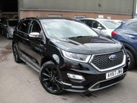 USED 2017 67 FORD EDGE 2.0 VIGNALE TDCI 5d AUTO 207 BHP ANY PART EXCHANGE WELCOME, COUNTRY WIDE DELIVERY ARRANGED, HUGE SPEC