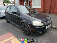 USED 2004 04 VAUXHALL CORSA 1.2 SXI 16V 3d 75 BHP PART EX TO CLEAR - TRADE SALE