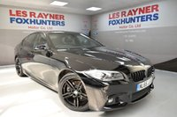 USED 2015 65 BMW 5 SERIES 2.0 520D M SPORT 4d AUTO 188 BHP Sat Nav, 19in alloys, Bluetooth, Cruise control, Leather