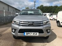 USED 2017 17 TOYOTA HI-LUX INVINCIBLE D-4D 4WD AUTO 150 BHP **VERY LOW MILEAGE**