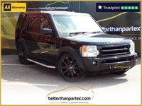 USED 2007 07 LAND ROVER DISCOVERY 3 2.7 AUTOMATIC 3d 144 BHP 7 SEATS 1 OWNER No Deposit Finance & Part Ex Available