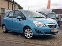USED 2011 11 VAUXHALL MERIVA 1.7 S 5d 128 BHP AS ALWAYS ALL CARS FROM EDINBURGH CAR STORE COME WITH 1 YEARS FULL MOT ,1 FULL RAC INSPECTION SERVICE AND 6 MONTH RAC WARRANTY INCLUDING  12 MONTHS RAC BREAKDOWN RECOVERY FREE OF CHARGE!      PLEASE CALL IF YOU DONT SEE WHAT YOUR LOOKING FOR AND WE WILL CHECK OUR OTHER BRANCHES.  WE HAVE  OVER 100 CARS IN DEALER STOCK