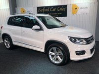 USED 2013 63 VOLKSWAGEN TIGUAN 2.0 R LINE TDI BLUEMOTION TECHNOLOGY 4MOTION 5d 175 BHP ESTATE