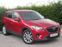USED 2014 14 MAZDA CX-5 2.2 D SPORT NAV 5d * 12 MONTHS AA BREAKDOWN COVER * 128 POINT AA INSPECTED *