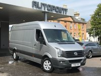 USED 2015 64 VOLKSWAGEN CRAFTER 2.0 CR35 BLUEMOTION TDI H/R P/V 1d 161 BHP lwb, air con, front and rear sensors