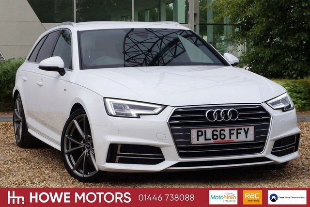 2016 66 AUDI A4 2.0 AVANT TDI S LINE 5d 148 BHP NAVIGATION HEATED 1/2 LEATHER SPORT SEATS 19