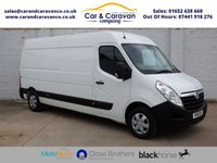 USED 2016 16 VAUXHALL MOVANO 2.3 F3500 L3H2 P/V CDTI 1d 123 BHP One Owner Service History NAV Buy Now, Pay Later Finance!