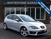 USED 2011 61 SEAT LEON 2.0 CR TDI FR PLUS 5d 168 BHP STUNNING CAR WITH A GREAT SPEC
