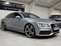 USED 2013 63 AUDI A7 3.0 TDI QUATTRO BLACK EDITION 5d 245 BHP