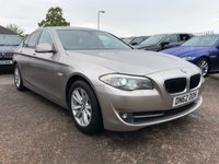 USED 2012 62 BMW 5 SERIES 2.0 520D SE 4d AUTO 181 BHP RARE SPECIFICATION, FULL SERVICE HISTORY