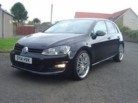 USED 2014 14 VOLKSWAGEN GOLF 2.0 GT TDI BLUEMOTION TECHNOLOGY DSG 5d AUTO 148 BHP // HUGH SPECIFICATION // OVER 4K OF FACTORY FITTED OPTIONS //