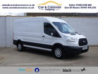USED 2016 16 FORD TRANSIT 2.2 350 ECONETIC L3 H2 124 BHP One Owner Full FORD History Buy Now, Pay Later Finance!