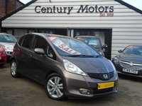 2011 HONDA JAZZ 1.4 I-VTEC EX 5d + PANORAMIC GLASS SUNROOF £4690.00